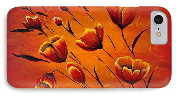 Blooming Flowers IPhone Case