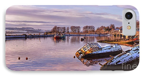 Bowling Harbour Panorama 02 IPhone Case