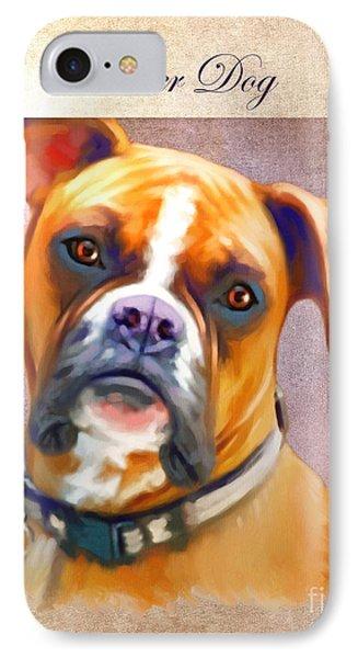 Boxer Dog Art IPhone Case