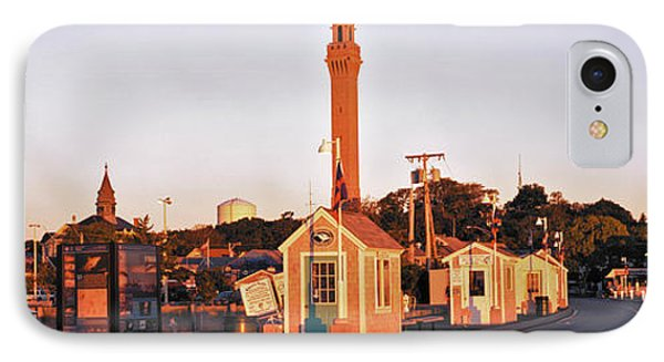 Buildings In A City, Provincetown, Cape IPhone Case