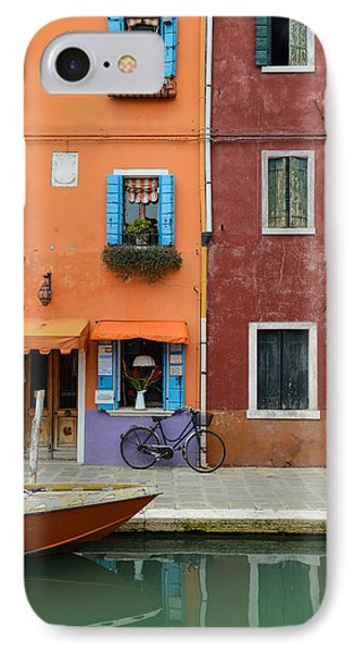 Burano Italy IPhone Case