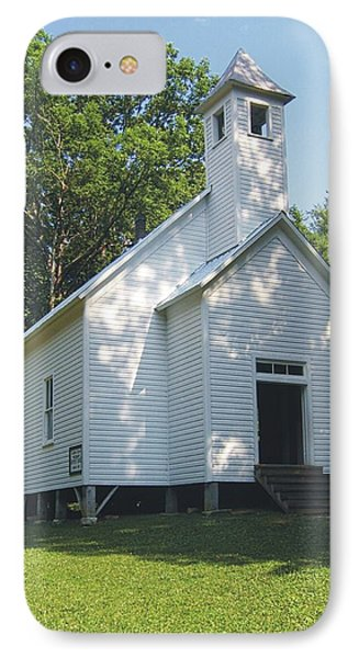 Cades Cove Missionary Baptist Church IPhone Case