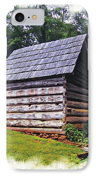 Cades Cove Shed IPhone Case