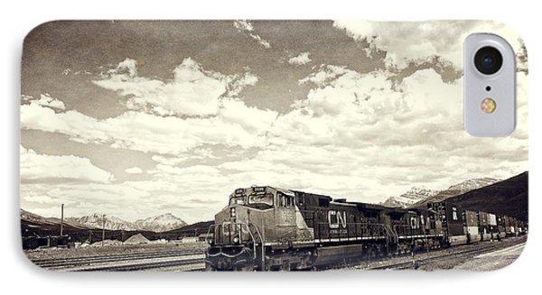 Canada Rail IPhone Case