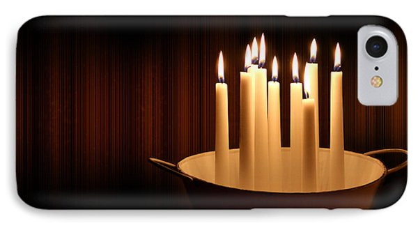 Candle Light IPhone Case
