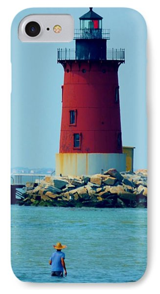 Cape Henlopen Lighthouse IPhone Case