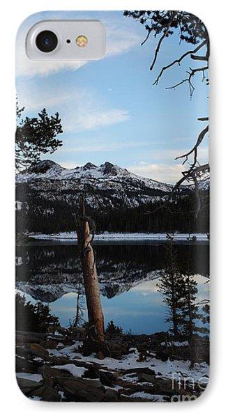 Caples Lake IPhone Case