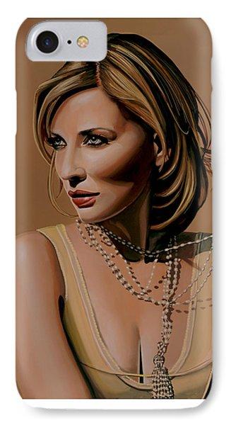 Cate Blanchett Painting  IPhone Case