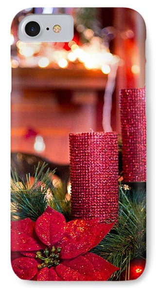 Christmas Candles IPhone Case