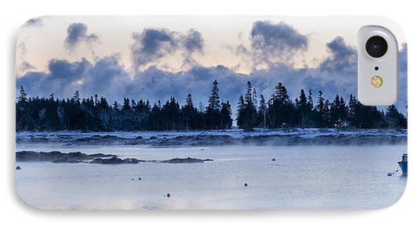 Cold Day Down East Maine IPhone Case