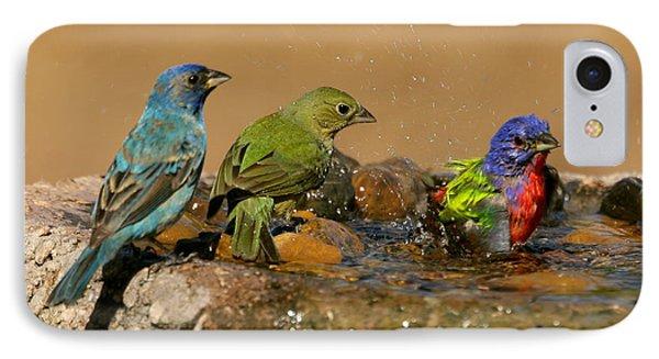 Colorful Bathtime IPhone Case