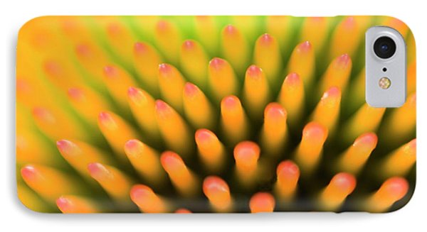 Coneflower Abstract IPhone Case