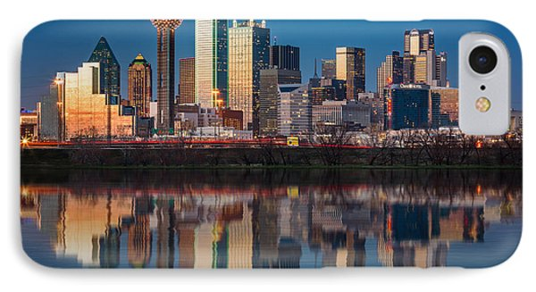 Dallas Skyline IPhone Case
