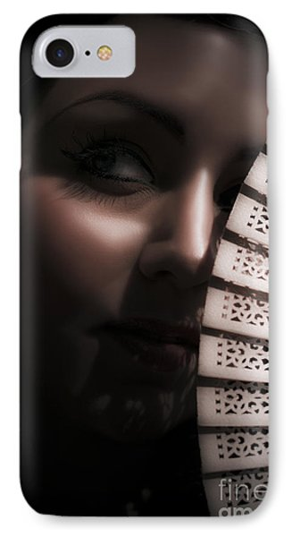 Dark And Mysterious Woman IPhone Case