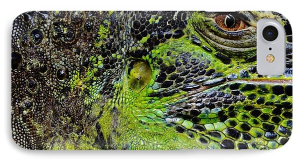 Details Iguana IPhone Case