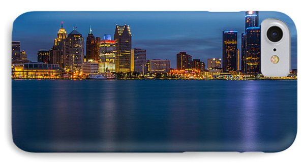 Detroit Skyline IPhone Case