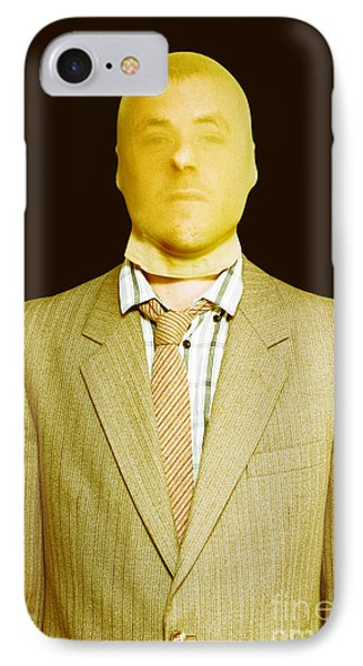 Dodgy Business Person In Stocking Mask IPhone Case