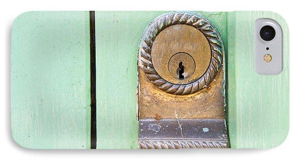Door Lock IPhone Case