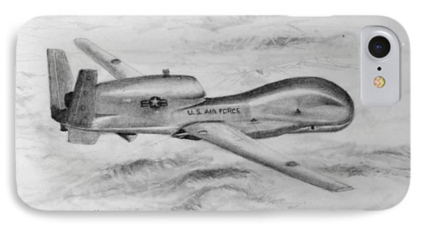 Drone Rq-4 Global Hawk IPhone Case