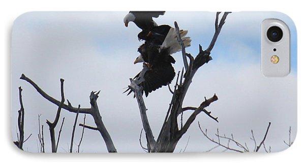 Eagle Fight 3 IPhone Case