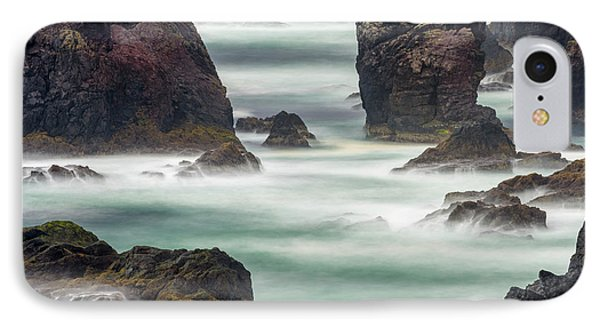 Famous Cliffs And Sea Stacks Of Esha IPhone Case