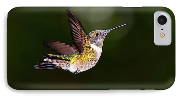 Flight Of A Hummingbird IPhone Case
