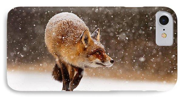Fox First Snow IPhone Case