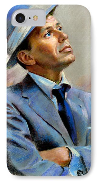 Small iPhone 8 Case - Frank Sinatra  by Ylli Haruni