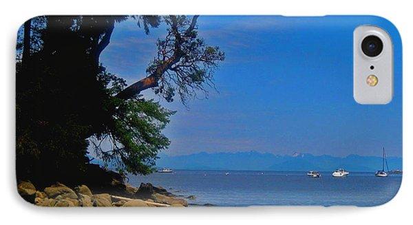 Gabriola Island Scene IPhone Case