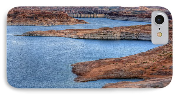 Glen Canyon Dam Lake Powell IPhone Case
