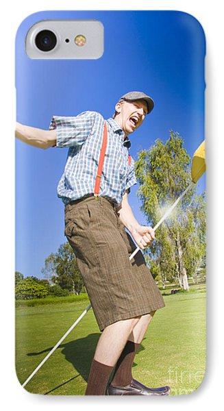 timeless design fa3f2 352ee Crazy Golf iPhone 8 Cases | Fine Art America
