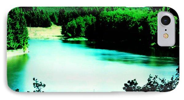 Gorge Waterway Victoria British Columbia IPhone Case