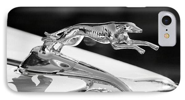 Greyhound Hood Ornament IPhone Case
