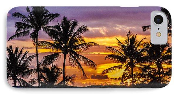 Beauty In Nature iPhone 8 Case - Hawaiian Sunset by Juli Scalzi