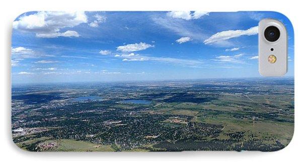 High Over Boulder Colorado IPhone Case
