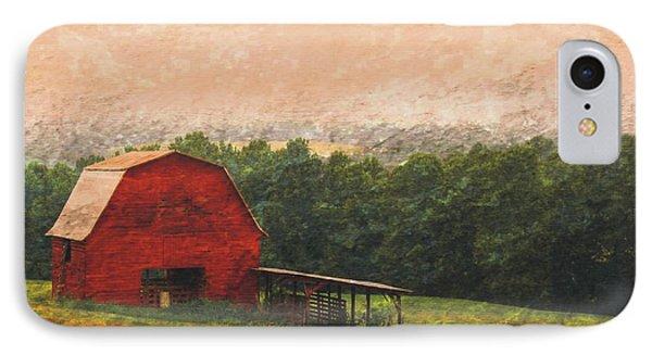 Hillside Barn IPhone Case