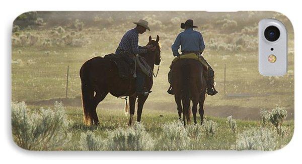 Holding Herd IPhone Case