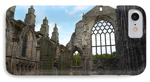 Holyrood Abbey Ruins IPhone Case