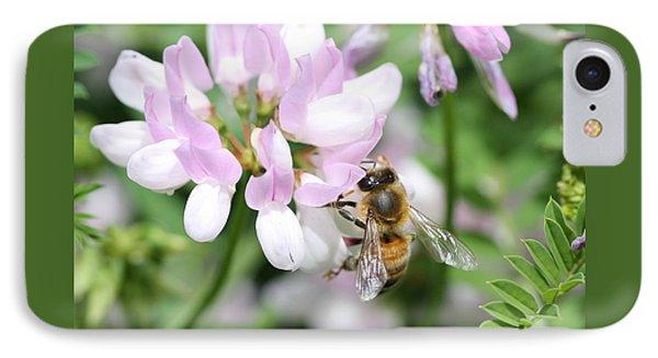 Honeybee On Crown Vetch IPhone Case