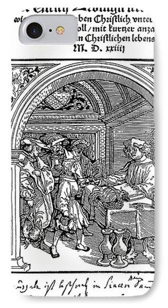 Huldreich Zwingli (1484-1531) IPhone Case