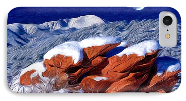 Icing On The Rocks IPhone Case
