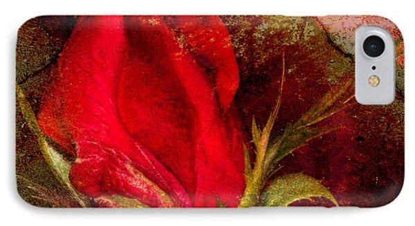 Impressionistic Rose IPhone Case