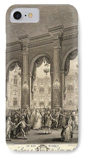 Jean-michel Moreau Le Jeune French, 1741-1814 After P. L IPhone Case