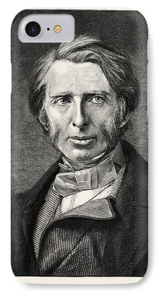 John Ruskin, 8 February 1819  20 January 1900 IPhone Case