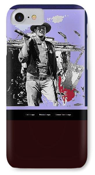 John Wayne Rio Bravo Publicity Photo 1959 Old Tucson Arizona IPhone Case