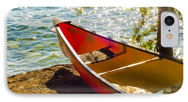Kayak By The Water IPhone Case