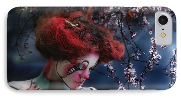 Lady Spring Silence IPhone Case
