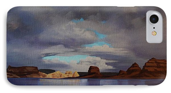 Lake Powell Storm IPhone Case