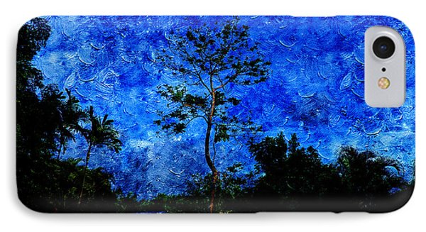 Landscapes In Blue Sky IPhone Case
