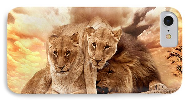 Lions IPhone Case